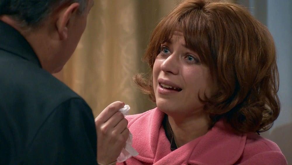 Nuria piensa que su padre está muerto por culpa de Félix