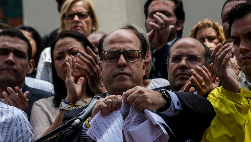 El opositor Julio Borges