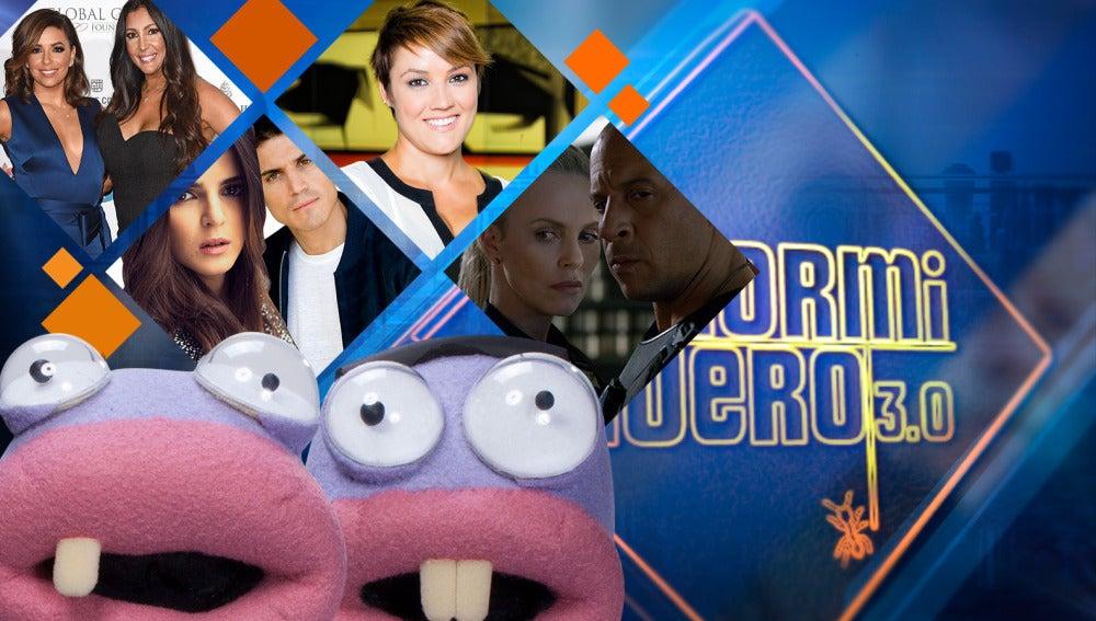 Charlize Theron y Vin Diesel, Álex González y Eva Longoria, entre los invitados de la semana en 'El Hormiguero 3.0'