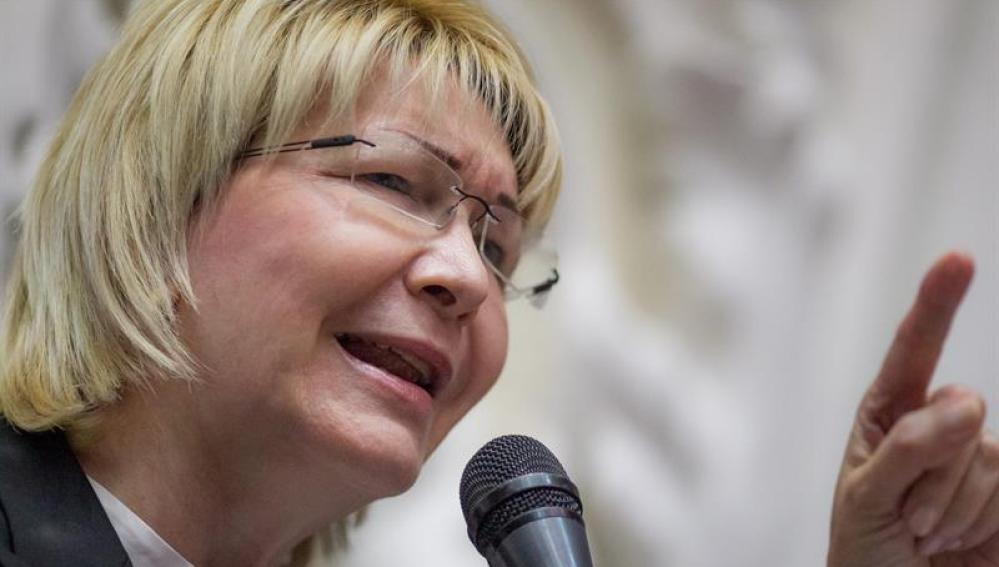 La fiscal general de Venezuela, Luisa Ortega Diaz