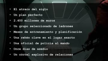 Antena 3 Tv Primeras Imágenes De La Casa De Papel Un Thriller