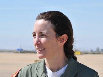 Rosa García-Malea, piloto de la Patrulla Aguila