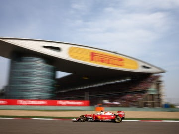Vettel, en el GP de China de 2016