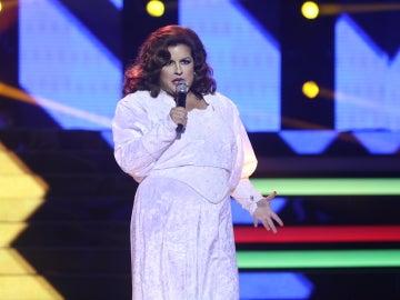 Tamara Jerez emociona al plató con 'Ese hombre', transformada en Rocío Jurado