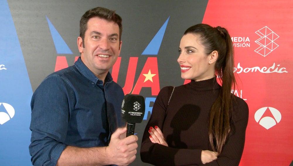 Pilar Rubio y Arturo Valls dan las claves para no perderse 'Ninja Warrior'