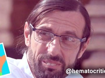 """""""Filippeti, el peor y más duro crítico gastronómico"""" por @hematocrítico"""