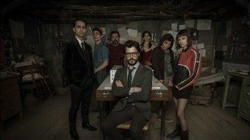 Primas imágenes de 'La Casa de Papel', un thriller policíaco con pasión, sangre y acción