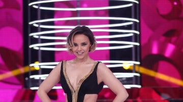 El espectacular vestido de Chenoa en la cuarta gala de 'Tu cara no me suena todavía'