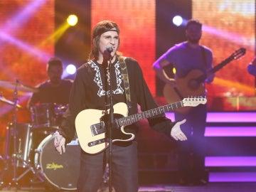 Keunam arrasa en el plató cantando 'A Dios le pido' de Juanes