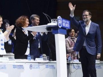 Rajoy, en la clausura del Congreso del PP de Castilla y León