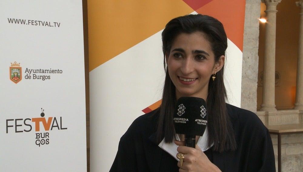 Alba Flores en el FesTval de Primavera para presentar 'La casa de papel'