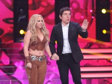 """Chenoa, a María Guillén: """"He visto a Shakira, me ha encantado"""""""