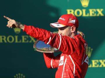 Vettel, vencedor en Australia