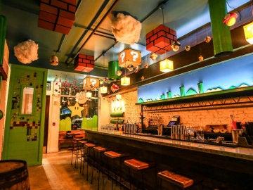 Cherry Blossom, el nuevo bar inspirado en el videojuego de 'Super Mario Bros'