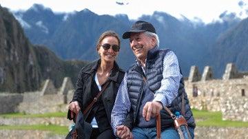 Isabel Preysler y Mario Vargas Llosa en Perú