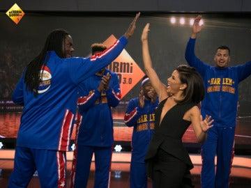 La magia de los 'Harlem Globetrotters' inunda el plató de 'El Hormiguero 3.0'