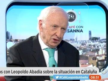 Leopoldo Abadía en Espejo Público