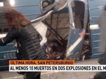 Diez muertos en San Petersburgo