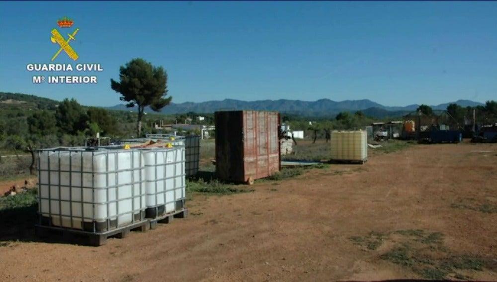 Frame 28.000377 de: Detenidas seis personas por el robo de combustible mediante la perforación de oleoductos