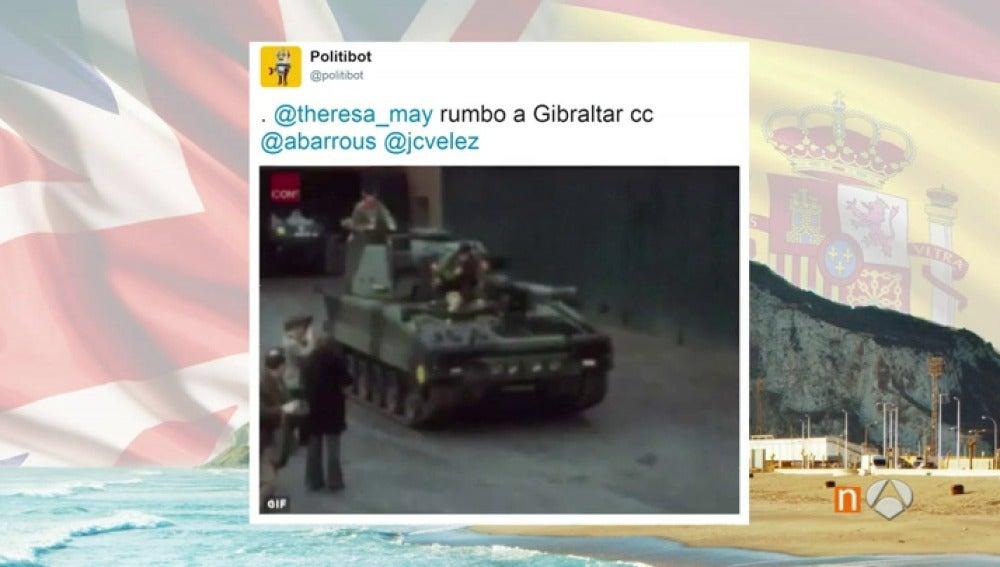 Frame 69.681111 de: Los 'memes' del desencuentro entre España y Reino Unido por Gibraltar