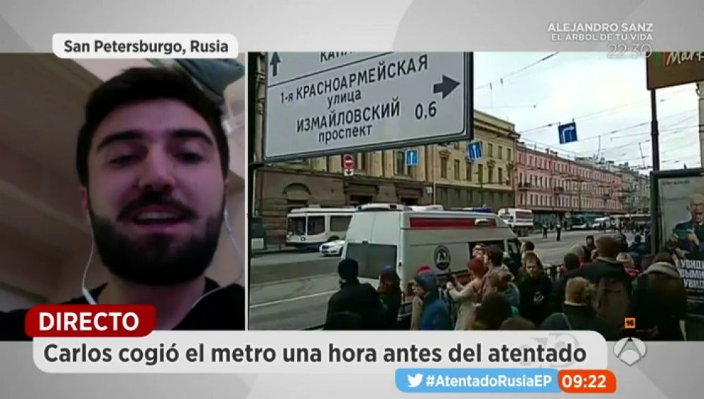 El testimonio de un español en San Petersburgo: