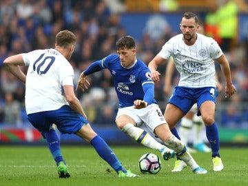 Imágenes del encuentro del Everton - Leicester