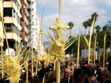 Domingo de Ramos en Elche.