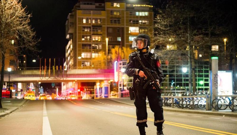 Policía en Oslo