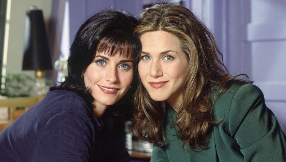 Monica Geller y Rachel Green de 'Friends'