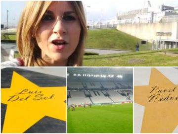 Susana Guasch nos enseña los secretos del Juventus Stadium