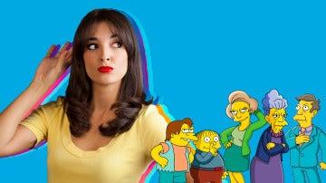 El especial mensaje de Leonor Lavado a cinco voces de 'Los Simpson'