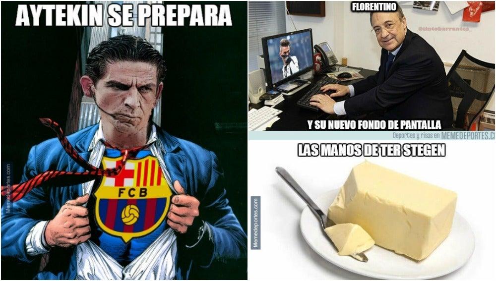 Los mejores 'memes' del Juventus - Barça