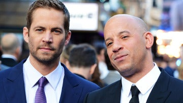 Vin Diesel junto a Paul Walker