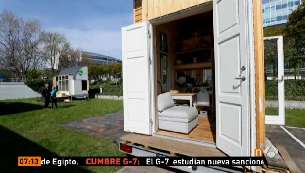 Antena 3 tv qu te llevar as a una casa de 10 metros - Minicasas en espana ...