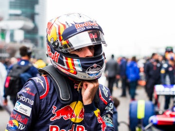 Carlos Sainz, en el GP de China