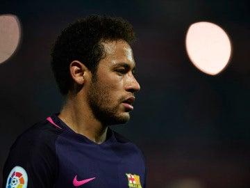 Neymar, en un partido del FC Barcelona