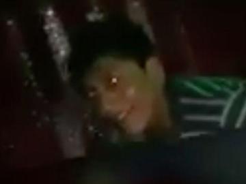 Imagen del joven que aparece en el vídeo violando a una chica inconsciente