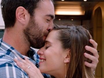 Carmen e Iñaki en 'Allí Abajo'