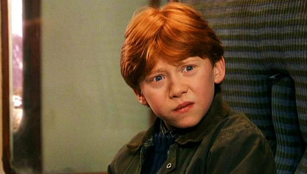 Ron Weasley en 'Harry Potter'