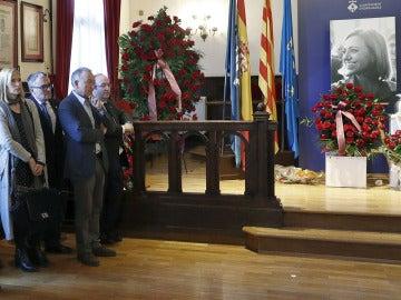 Homenaje a Carme Chacón en Esplugues de Llobregat