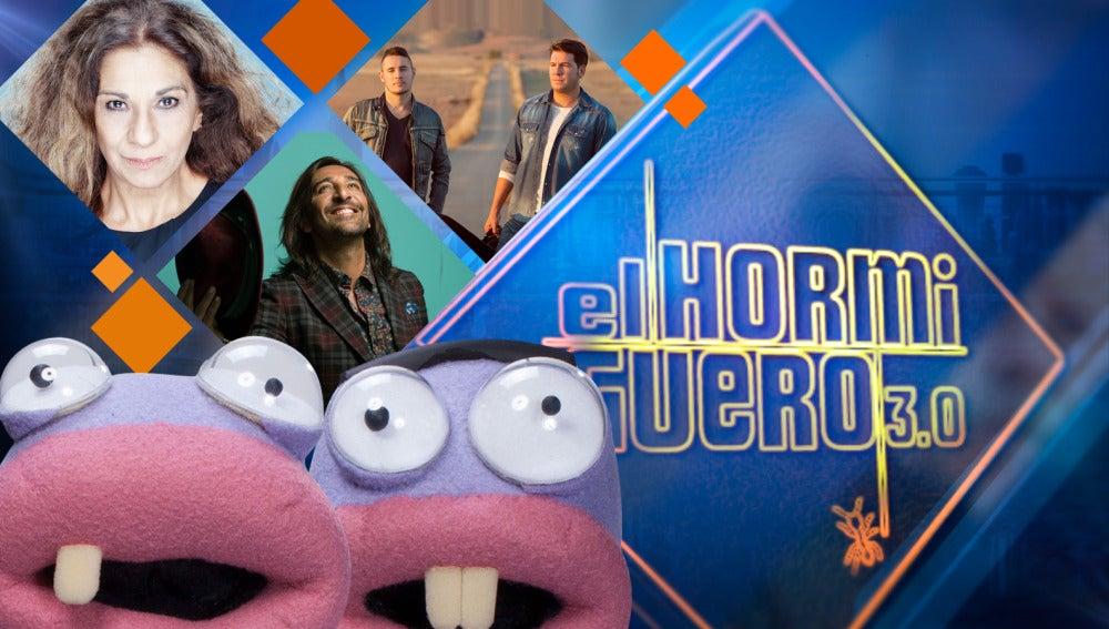 Lolita, Andy y Lucas y Antonio Carmona visitarán a Pablo Motos en 'El Hormiguero 3.0'