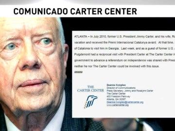 Comunicado de Jimmy Carter