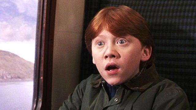 Ron Weasley no da crédito tampoco
