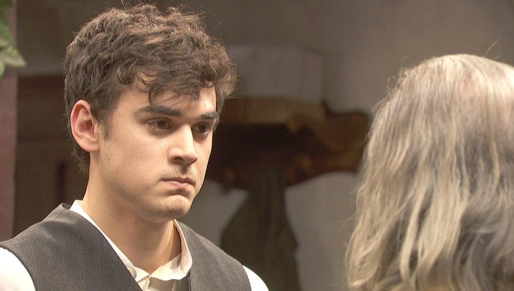 """Matías se enfrenta al padre de Marcela: """"Si la toca ser las verá conmigo"""""""