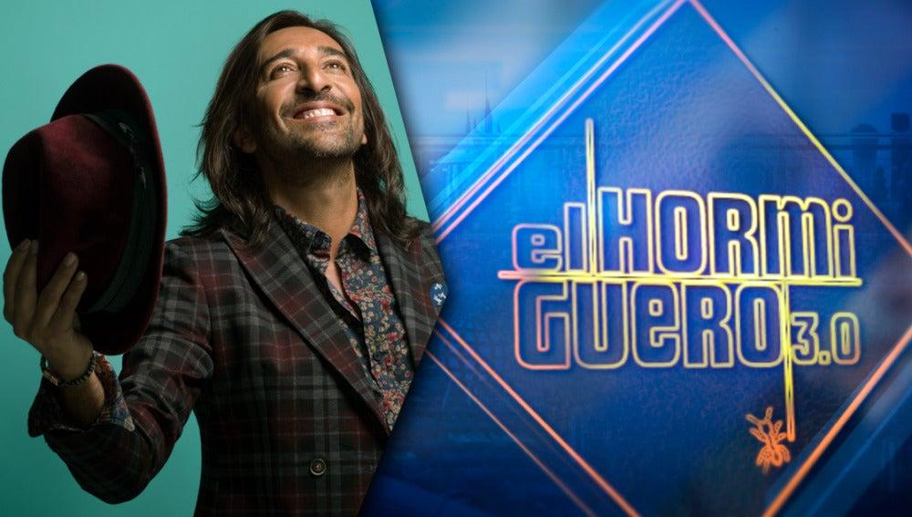 Antonio Carmona presenta su tercer disco en solitario el jueves en 'El Hormiguero 3.0'