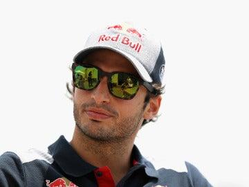 Carlos Sainz, antes del GP de Baréin