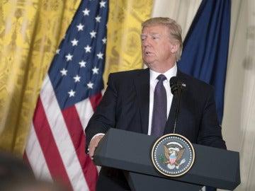 Donald Trump ante los medios