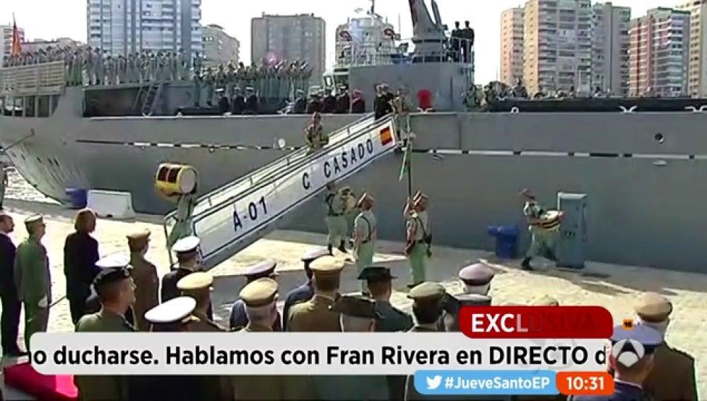 Vivimos En Primera Persona El Desembarco De Los Legionarios De Málaga