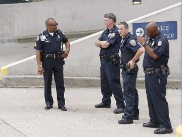 Agentes de la Policía de Atlanta