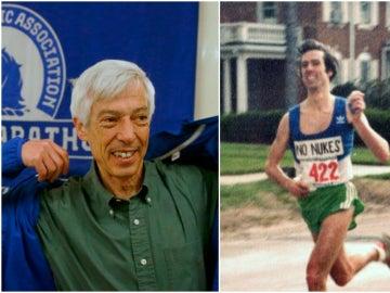 Ben Beach, ante su 50 maratón de Boston consecutivo